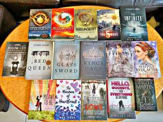 Brand new YA booksets
