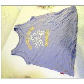 bossini 夏天 女童 小孩 兒童 男童 男生 短袖ㄒ恤 無袖 只售39元