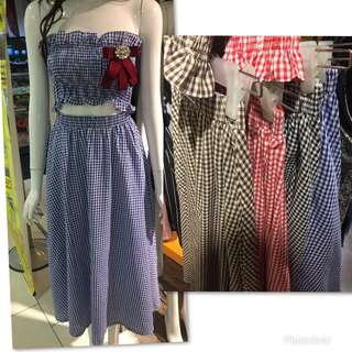 1 set cute dress
