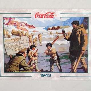1994 Coca Cola Series 2 Base Card #190 - F. Godwin - 1943
