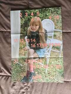 Red Velvet Wendy Poster Season Greeting 2018