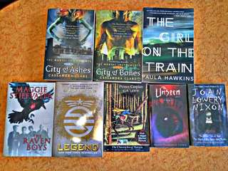 Preloved YA books