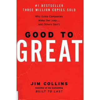 Good to Great: Why Some Companies Make the Leap...And Others Don't by Jim Collins - EBOOK