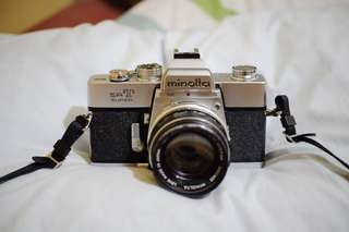 Film Camera: Minolta SRT Super with MC Rokkor 55mm f1.7
