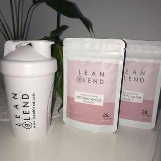 Lean blend protein powder
