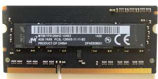 Various OEM DDR3 4GB Notebook RAM