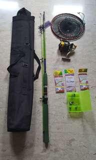 Fishing equipment full set