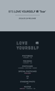 [CLOSED] BTS LOVE YOURSELF TEAR 3RD FULL ALBUM