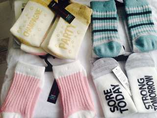 imported men's  and women's SOCKS