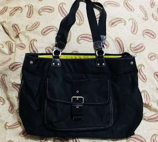 Kenneth Cole - Nylon Black Bag