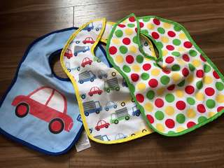 Mothercare bibs set of 3