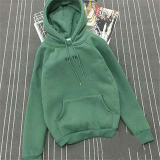 Green OH YES Sweater Jacket REPRICED!!