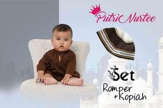 Combo Set Romper + Kopiah