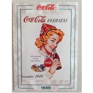 1994 Coca Cola Series 2 Base Card #185 - Overseas - 1949