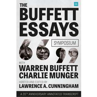 The Buffett Essays Symposium: A 20th Anniversary Annotated Transcript by Lawrence A. Cunningham - EBOOK