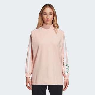 Baby Pink Adidas Sweatshirt Love Set