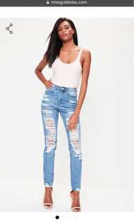 Missguided Womens Jeans