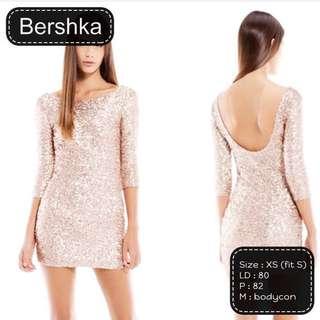 PRELOVED BERSHKA SEQUIN DRESS ORIGINAL