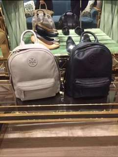 Original Tory Burch Women leather backpack