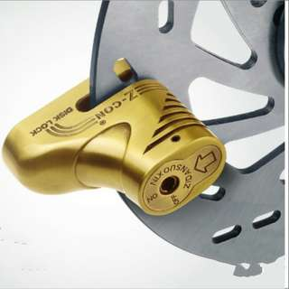 Weisson Motorcycle Disc Brake Lock High Quality Strong Steel Iron