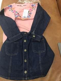 setelan pink jeans