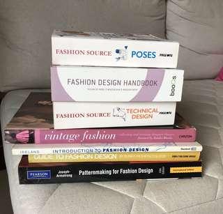 Fashion design books worth $180