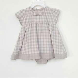 Chateau de sable baby girl romper dress