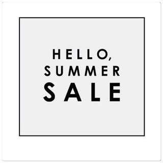 SUMMER SALE! ☀️