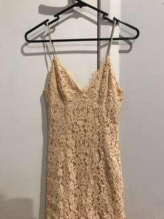 Bardot ✨ Cream 3/4 Dress #ITSDRESSTIME