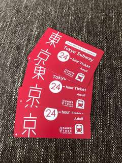 Tokyo Subway 24-Hour Ticket