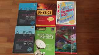 A Level H1 H2 Econs Physics Guides