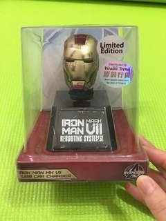 珍藏限量版iron man usb car charger