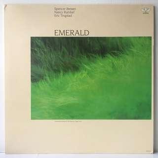 Spencer Brewer, Nancy Rumbel, Eric Tingstad – Emerald (1986 USA Original - Vinyl is Mint)