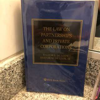 Law Partnership and Agency Book