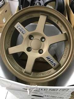 15 inch te37 sport rim