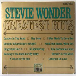 Stevie Wonder ‎– Greatest Hits (1968 USA Original - Vinyl is Mint)