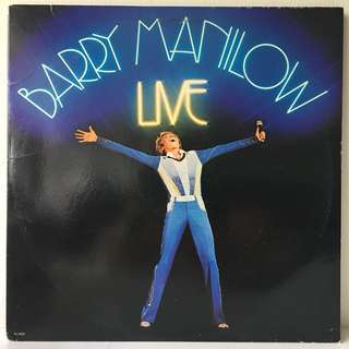Barry Manilow ‎– Live (1977 USA Original 2LP in Gatefold Sleeve - Vinyl is Mint)