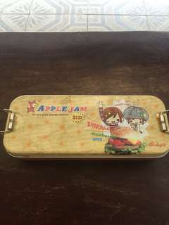 apple jam pencil case from japan