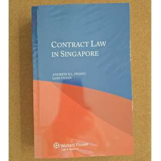 Contract Law in Singapore (aka Baby Phang)