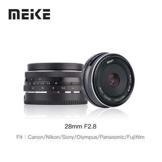 Meike 28mm F2.8