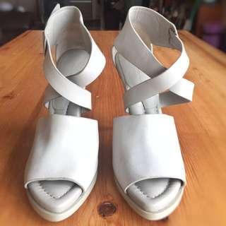 Alexander Wang light grey shoes (95% new)