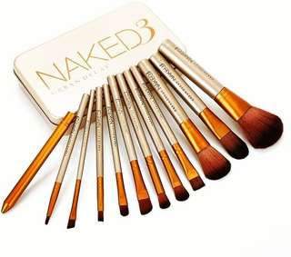 Naked 3 Set Brush with Box