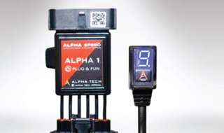 Alpha 1 plug and play E- throttle pickup booster for Toyota Hiace, Nissan NV350 and NV200