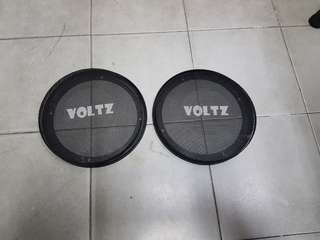 4 pcs 6 inch speakers cover