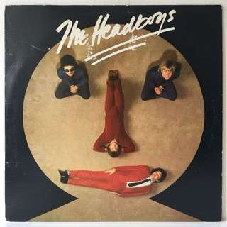 The Headboys ‎– The Headboys (1979 USA Promo Copy - Rare White Label Version - Vinyl is Excellent)