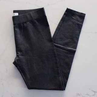 Seed Leather-Look Leggings