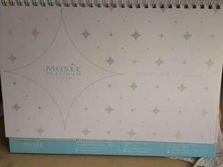 Musee2018香港日曆