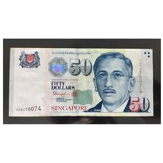 * RADAR * SINGAPORE $50