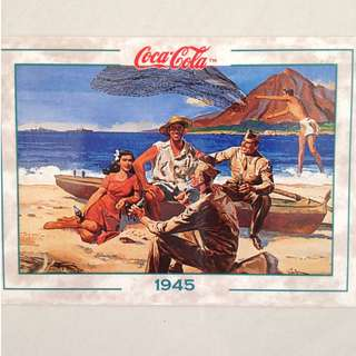 1994 Coca Cola Series 2 Base Card #183 - Original Art - 1945