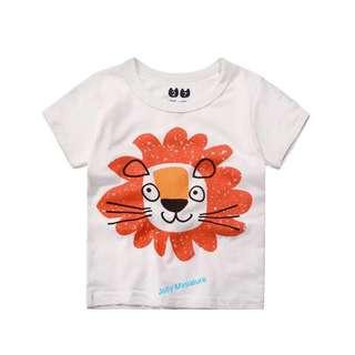 Toddler T-shirt (Orange Lion 🦁)